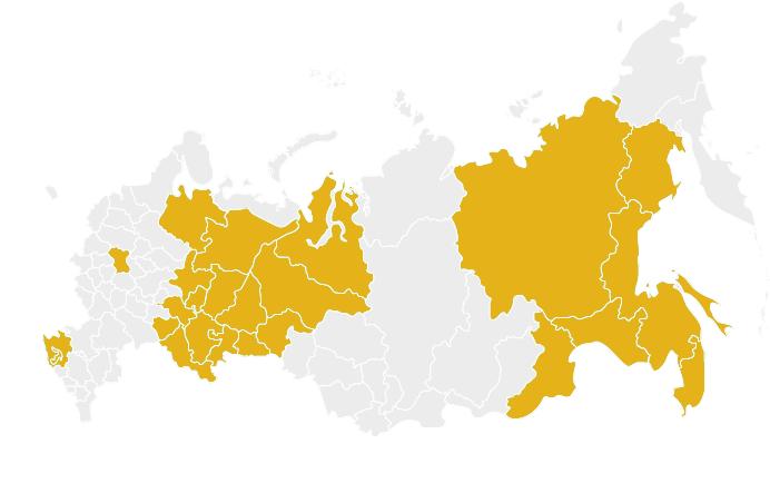 Карта поставок
